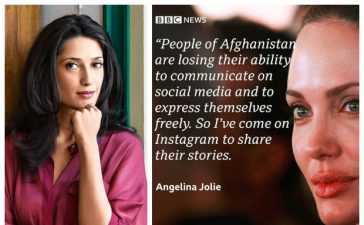 Fatima Bhutto slams Angelina Jolie