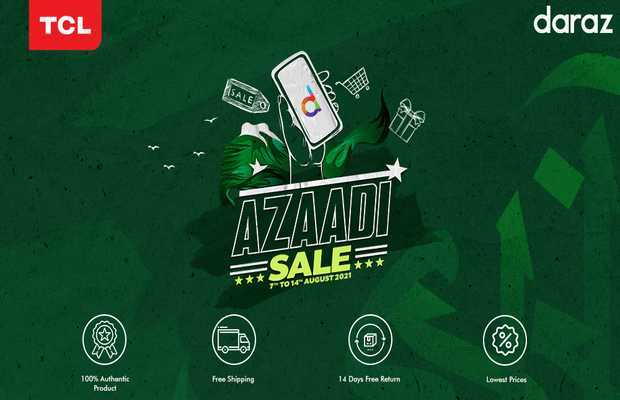 Huge Discounts on TCL and Daraz