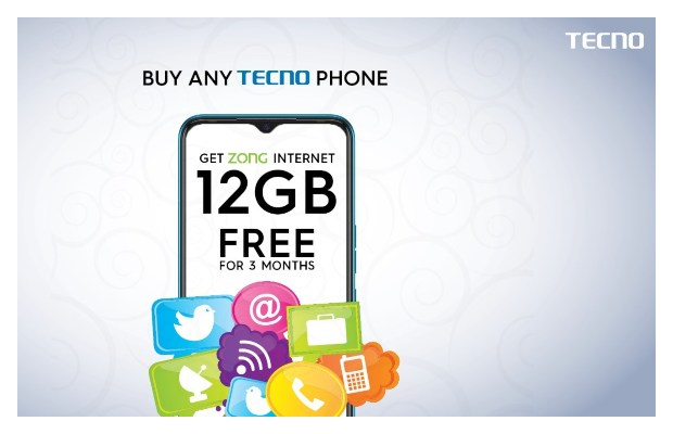 TECNO Partners with Zong 4G