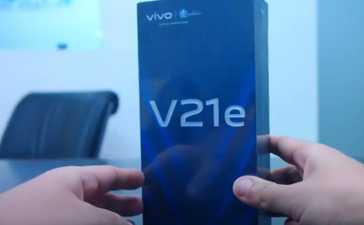 Vivo V21e Unboxing