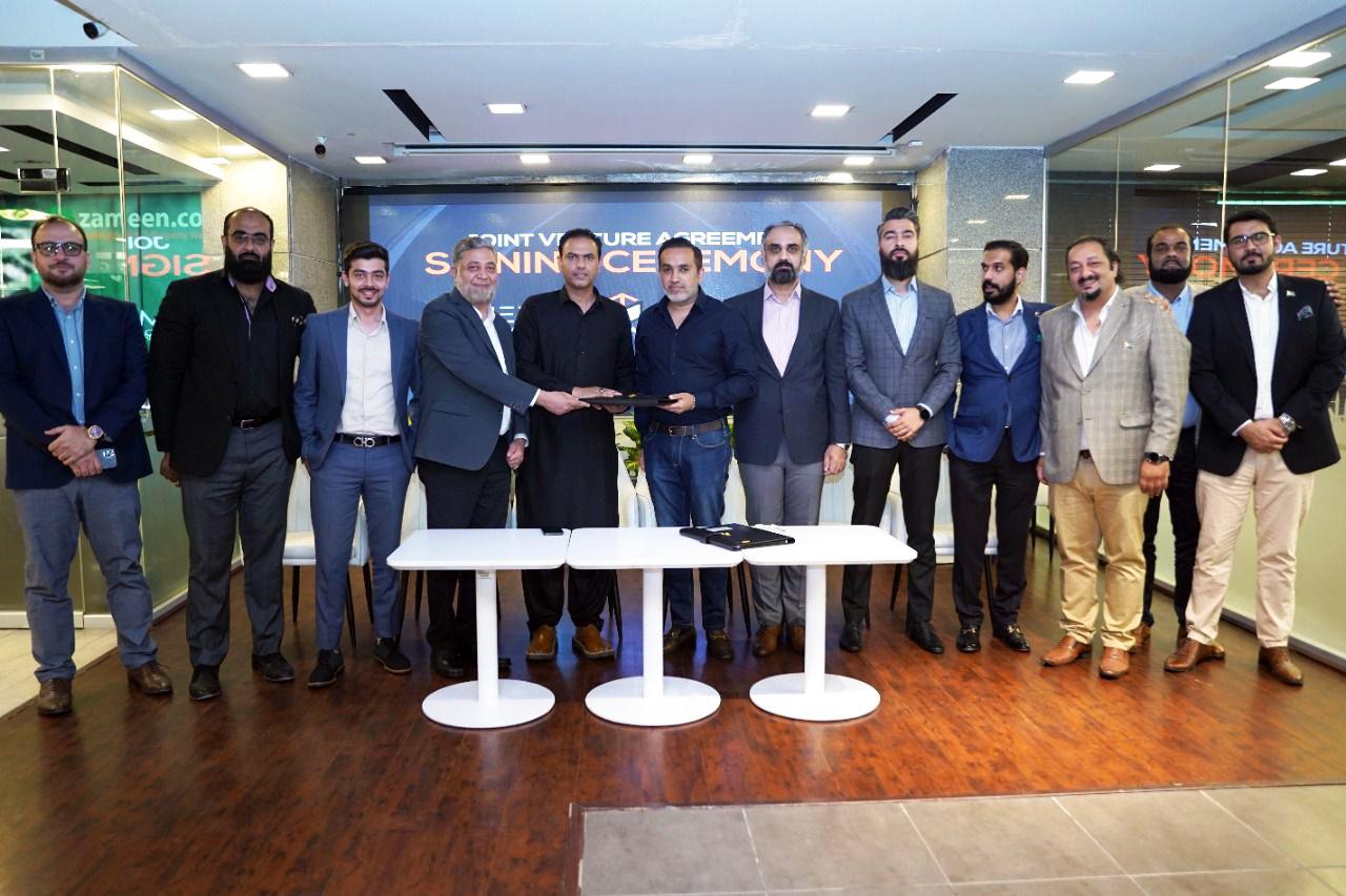 Zameen Developments team
