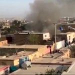 A powerful blast reported near Kabul airport