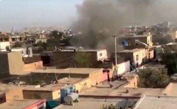 Blast near Kabul airport
