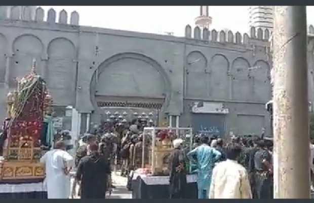 granade attack on Ashura procession