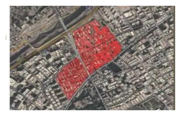 Pakistan Quarters' residents lease