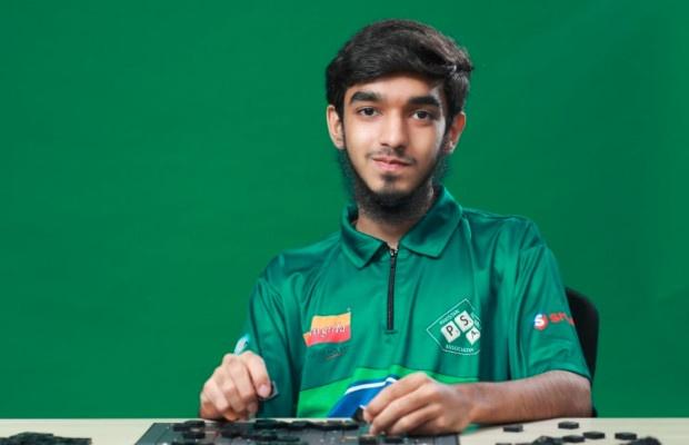 Pakistani scrabble prodigy Syed Imaad Ali