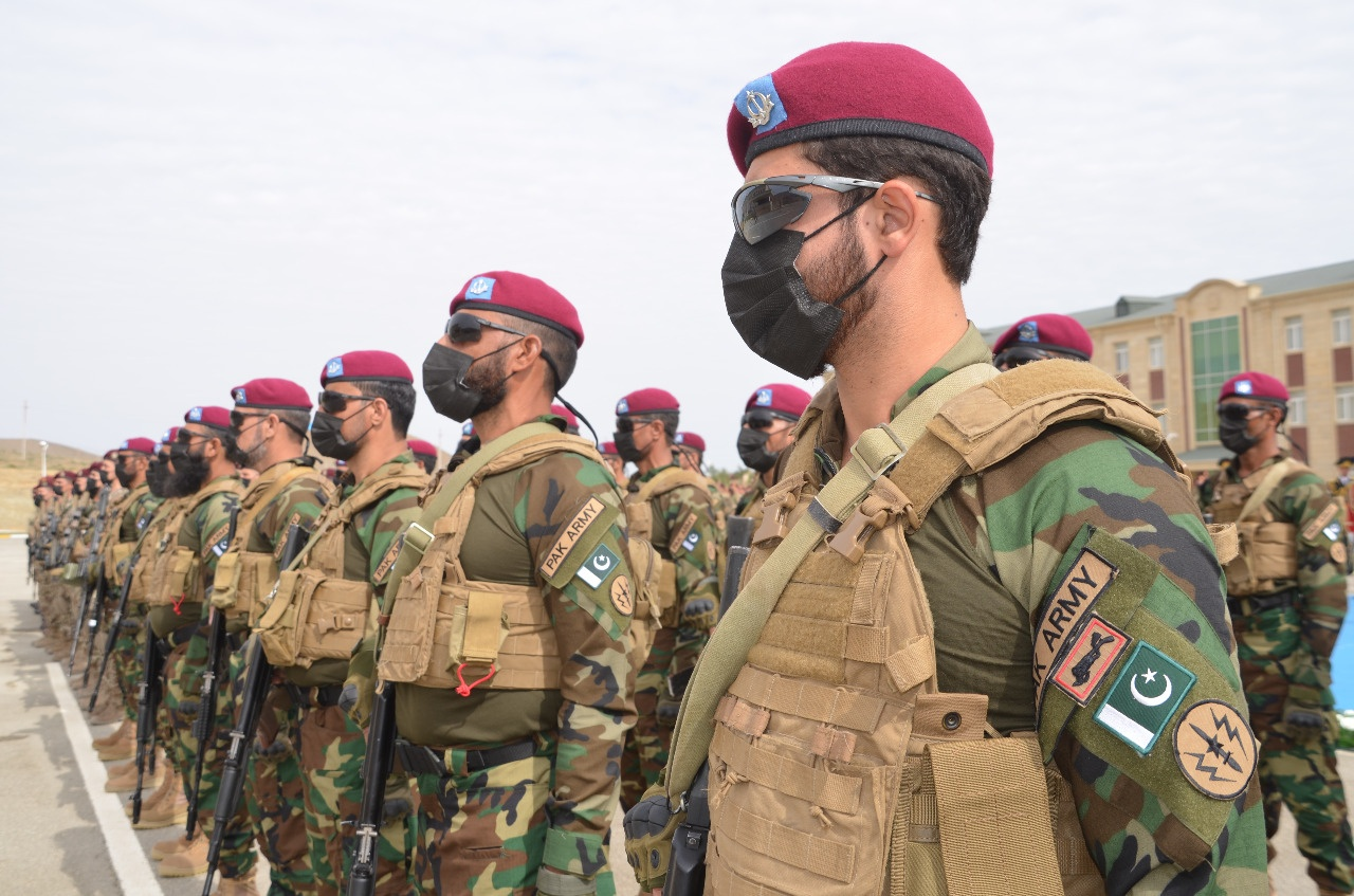 joint military drills conclude