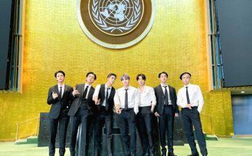 BTS at UNGA