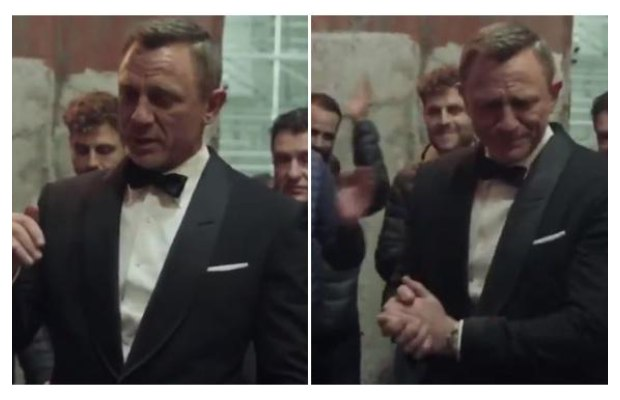 Daniel Craig's Farewell Speech