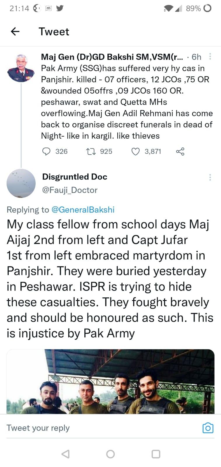 Bakshi SM tweet
