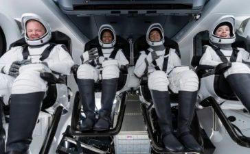 Elon Musk's SpaceX civilian flight