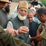 Senior Hurriyat leader Syed Ali Geelani passes away