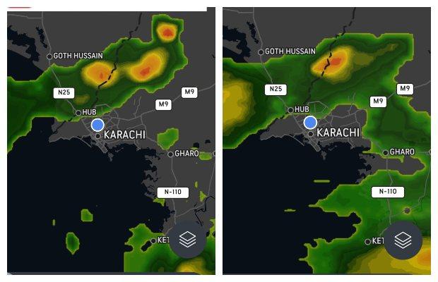 Heavy rain, thunderstorm expected