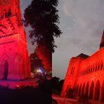 Karachi Monuments Illuminated to Celebrate World Heart Day
