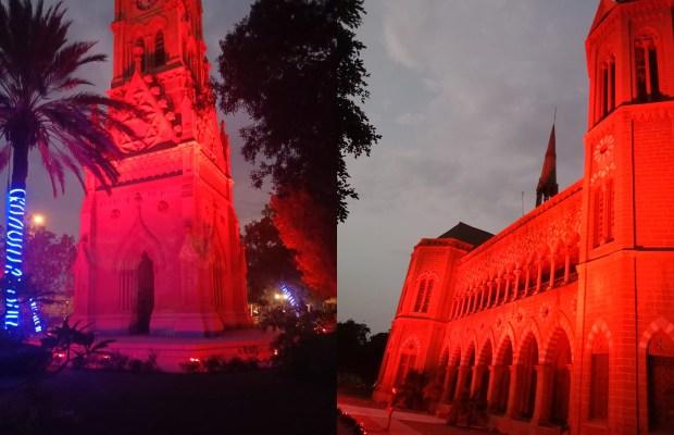 Karachi Monuments Illuminated
