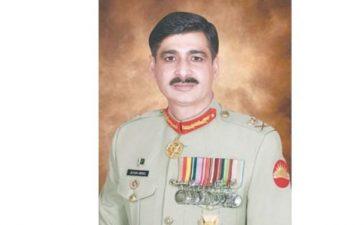 Lt Gen Azhar Abbas