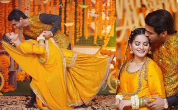 Minal-Mohsin wedding festivities