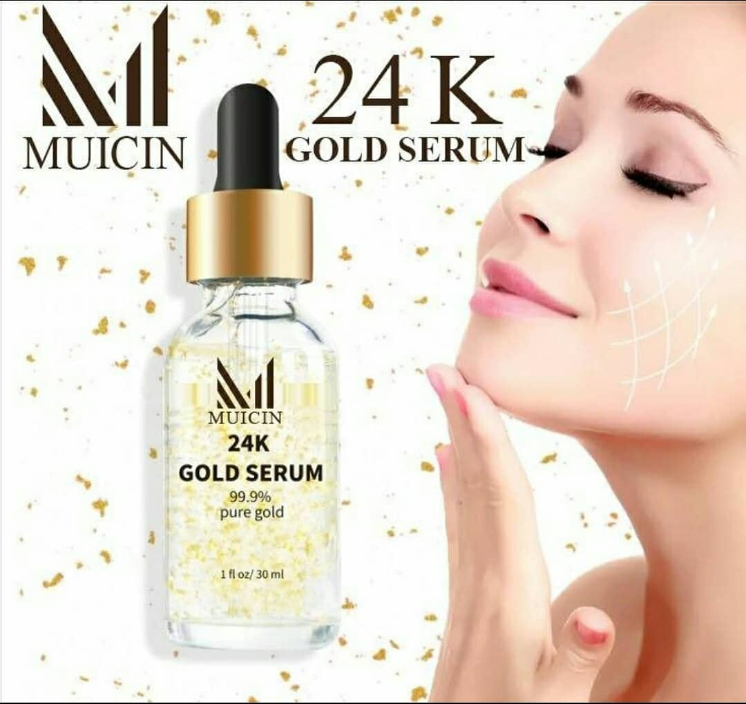 24 K Gold serum