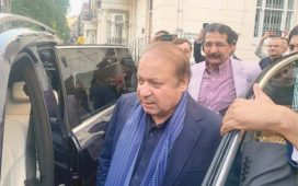 Nawaz Sharif In London