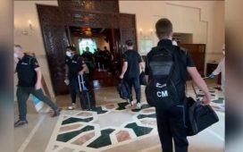 New Zealand cricket team left Pakistan