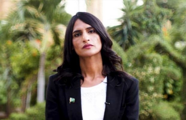Pakistani transgender lawyer