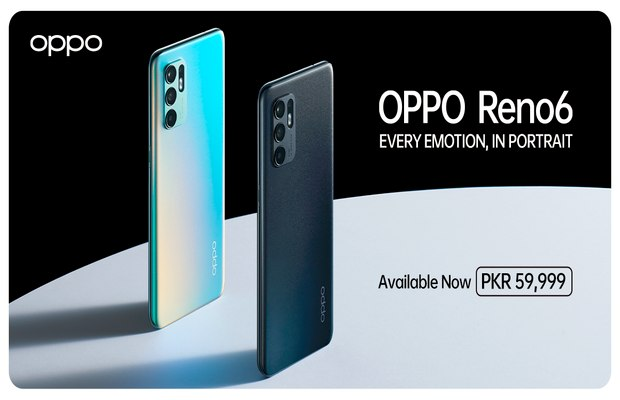OPPO Reno6 Goes on Sale