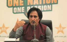 PCB Chief Ramiz Raja