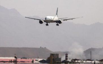 PIA's flight landed at Kabul airport