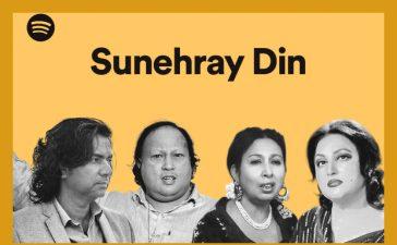 Spotify's 'Sunehray Din'