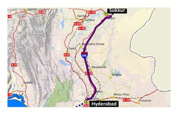 Hyderabad-Sukkur (M6) motorway project