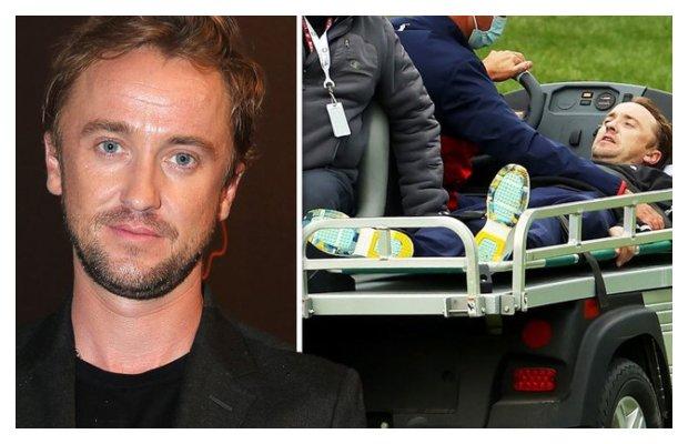 Tom Felton Collapsed