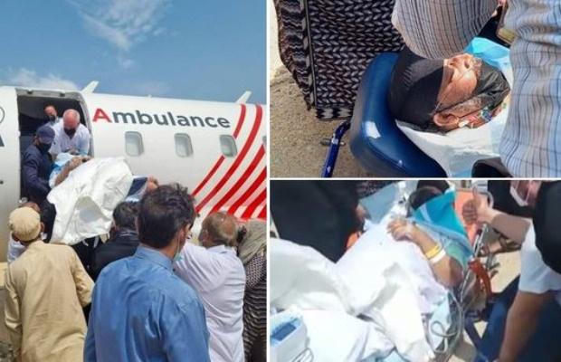 Umer Sharif hospitalized