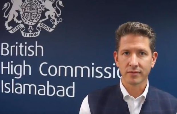 British High Commissioner to Pakistan Christian Turner