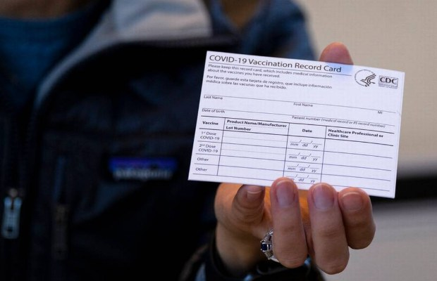 Fake COVID-19 vaccine cards