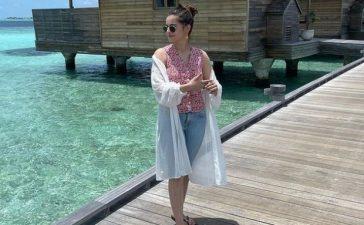Minal Khan honeymoon photos