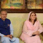 President's wife Samina Alvi contracts coronavirus