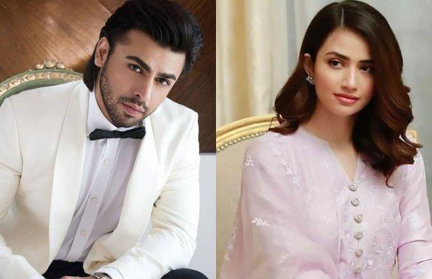 Sana Javed and Farhan Saeed