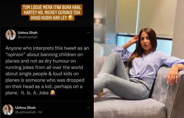 Ushna Shah hits back at trolls