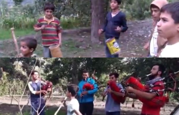 'children' in viral Hunza band video