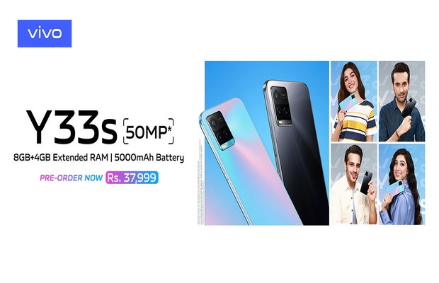 vivo Y33s Launched