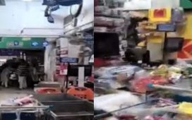Armed robbery at Imtiaz Super Market