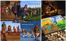 Board Game WINDS OF BALTORO