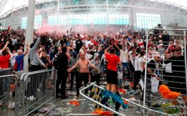 England get Wembley stadium ban