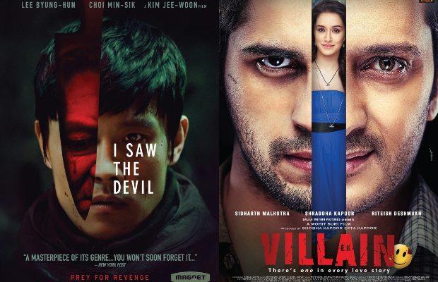 I Saw The Devil (2010) into Ek Villain (2014)