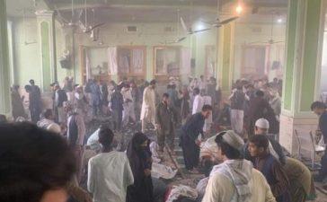 blast in Kandahar's Shia mosque