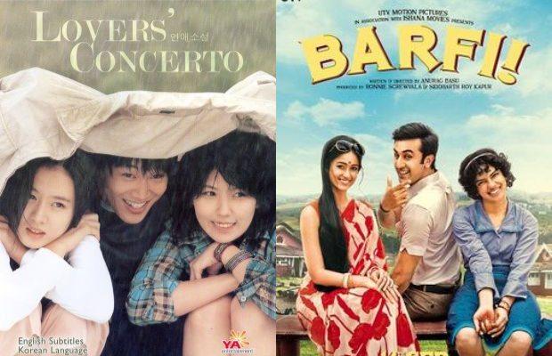 Lover's Concerto (2002) into Barfi (2012)