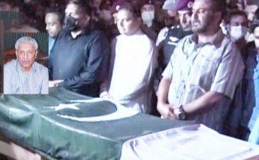 Dr. Abdul Qadeer Khan laid