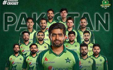 Pakistan's ICC Men's T20 World Cup squad