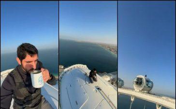 Sheikh Hamdan's latest video