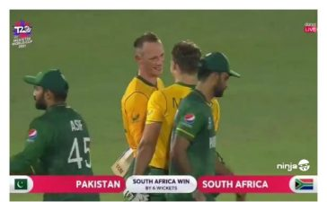 South Africa defeated Pakistan